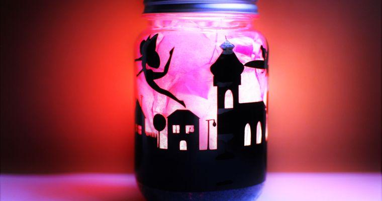 DIY Glow in the Dark Fairy Jar