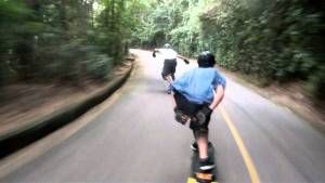 Downhill na vista Chinesa