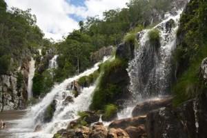 Cachoeira Santa Bárbara - Cachoeira da Capivara 1 - Chapada dos Veadeiros