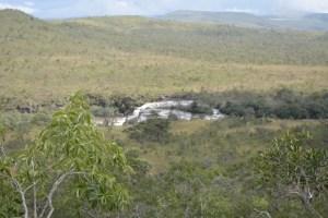Chapada dos Veadeiros - Catarata dos Couros - Vista do Rio