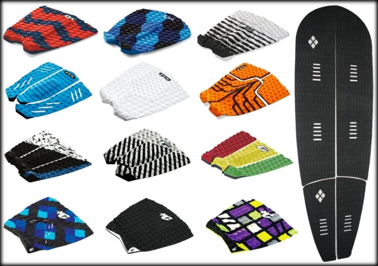 Decks para a prancha de surf ideal
