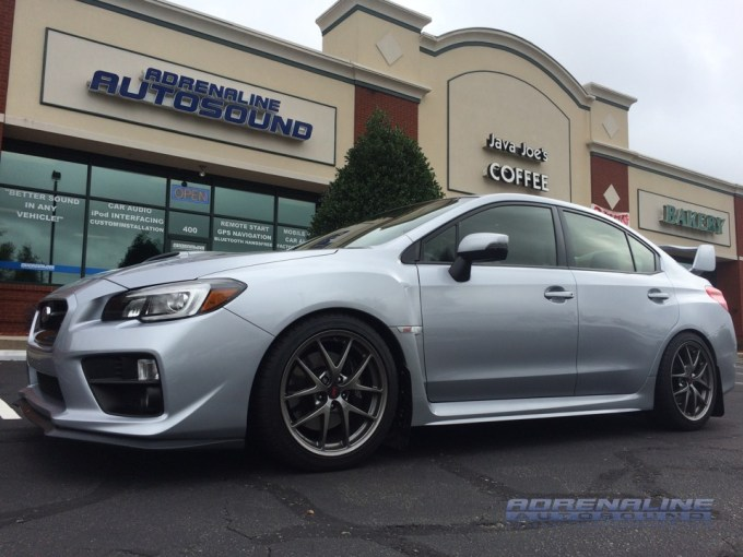 Subaru STi Audio