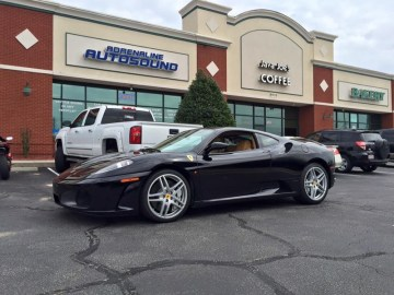 Clayton Client Gets Ferrari F430 Stereo System Upgrade