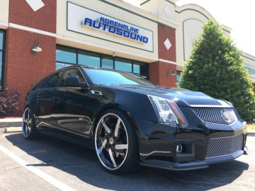 Raleigh Client Adds More CTS-V Sport Wagon Audio Upgrades