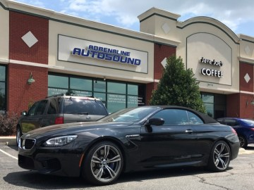 Raleigh Client Adds BMW M6 Audio System Upgrades