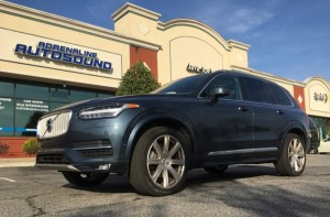 Repeat Raleigh Client Upgrades Volvo XC90 Audio System