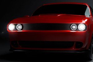LED Headlights on Dodge Challenger