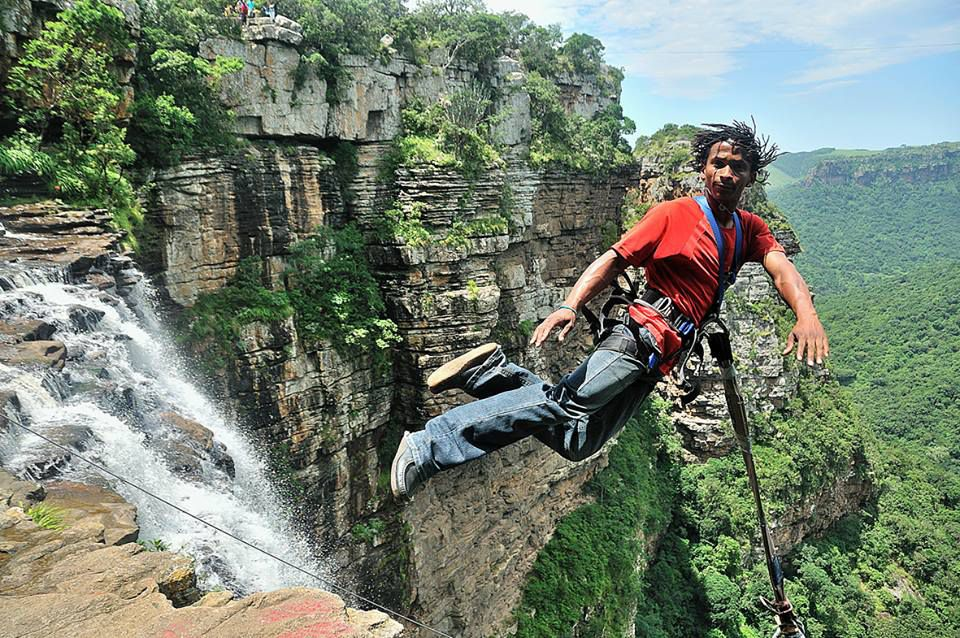 Oribi Gorge Swing - Jumps into the Abyss in South Africa