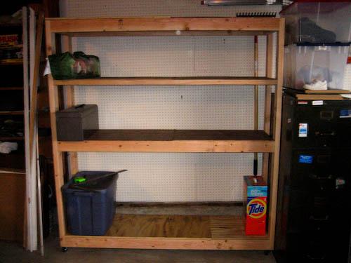 With extra shelf added.