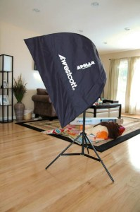 How To Build A Bracket Which Allows The Wescott Apollo Softbox To Tilt Downward For