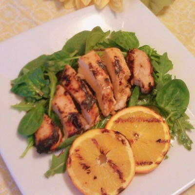 Grilled Chicken a L'Orange