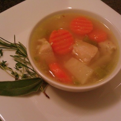 Winter Chicken Soup