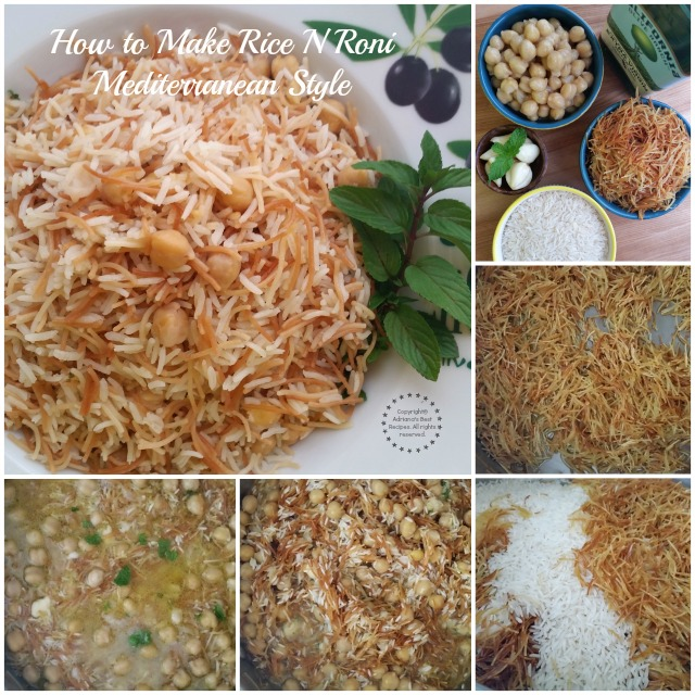 How to Make Rice N Roni Mediterranean Style