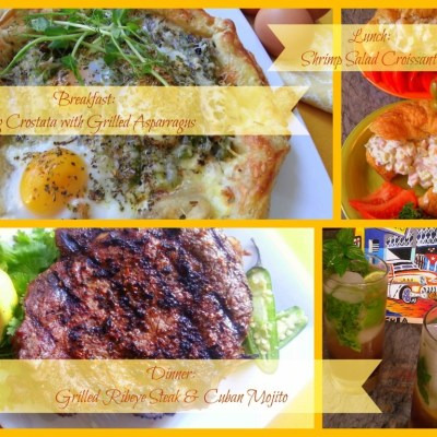 Complete Menu for Fathers Day