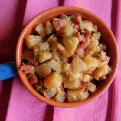 Idaho Potatoes and Chorizo