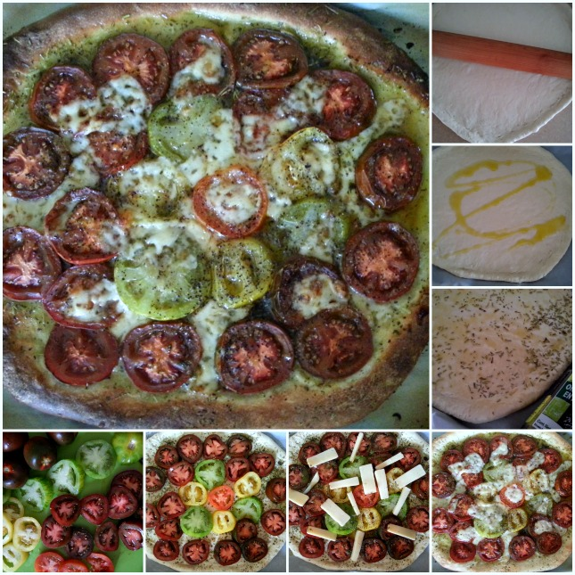 How to make Kumato and Heirloom Tomato Pizza #ABRecipes