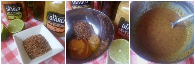 How to make the mustard sauce for the Grilled Tiger Shrimp Kebabs #ElDiabloMustard #ABRecipes
