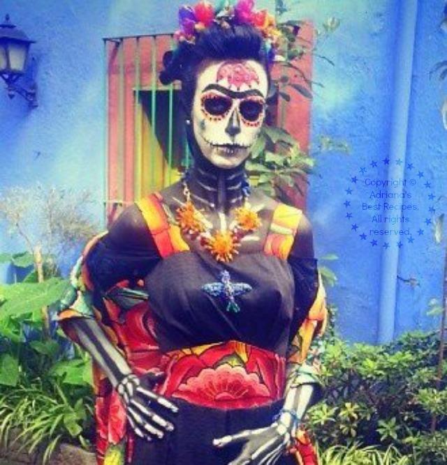 Frida Catrina at La Casa Azul