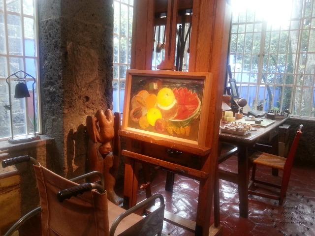 Frida Kahlo Studio at La Casa Azul
