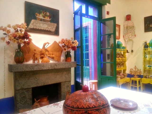 Frida's Dining Room at La Casa Azul