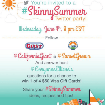 Join Skinny Summer Twitter Party June 4