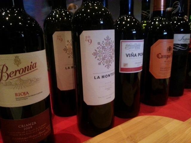 Rioja Wines at Taste of the Nation 2013 #OrlTaste
