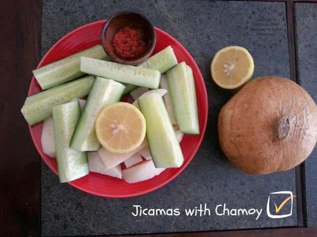 Jicamas with Chamoy #ABRecipes
