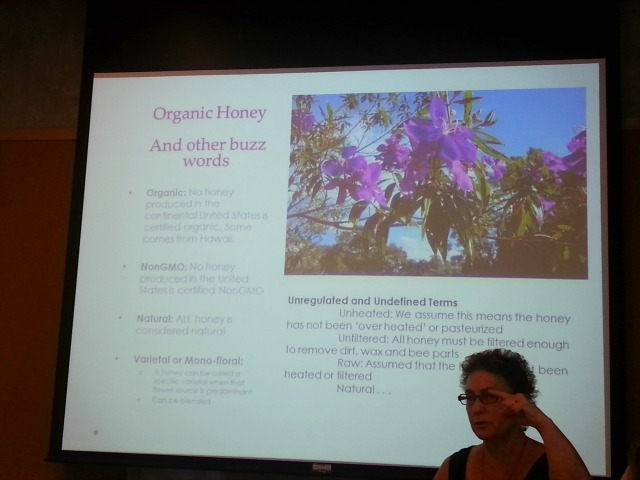 Organic Honey and Other Buzz