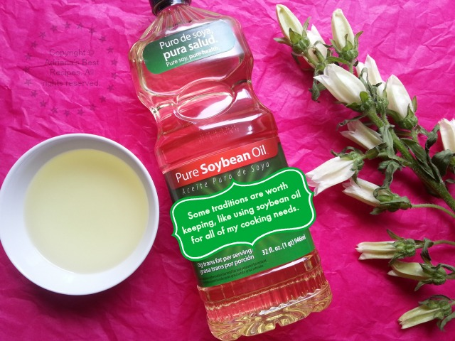 Pure soybean oil #USBtradiciones #ad
