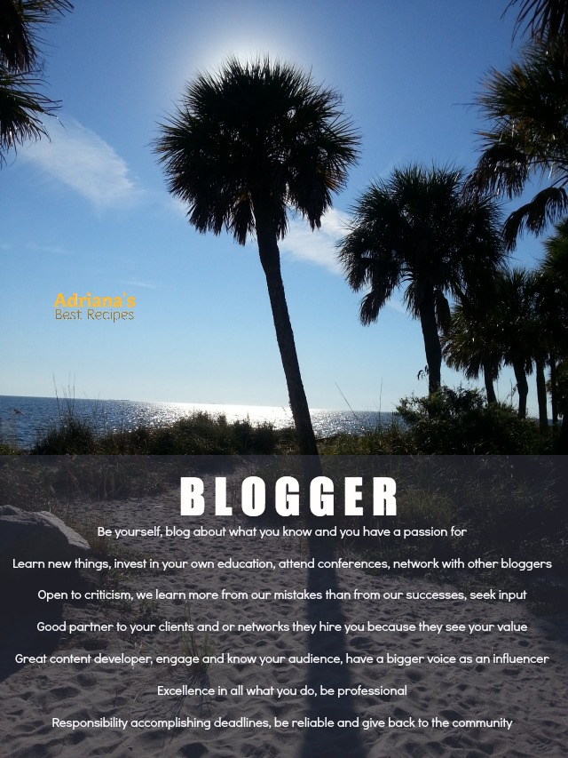 BLOGGER my definition for success #ABRecipes #LATISM