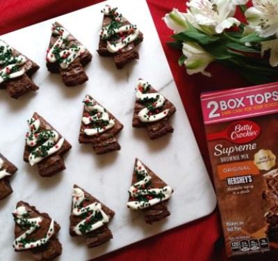 Brownies Navideños para las Fiestas