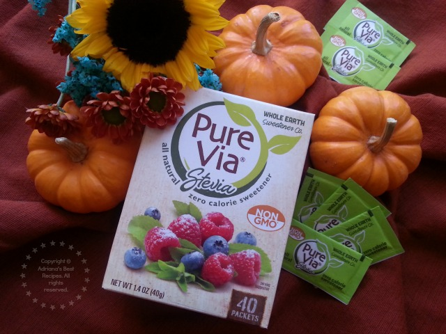 Stevia Pure Via is a natural alternative to sugar and artificial sweetener #PureViaSweet #PMedia #ad