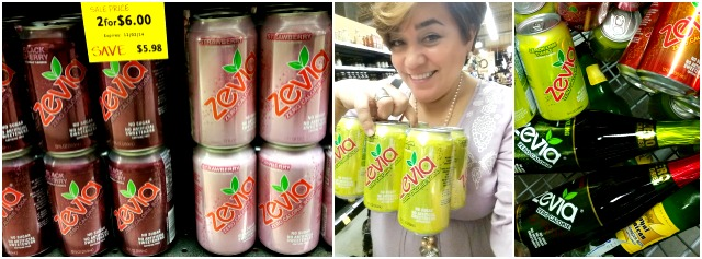 Adriana Martin shopping at Whole Foods for Zevia Zero Calories Soda #CheersTo #ad