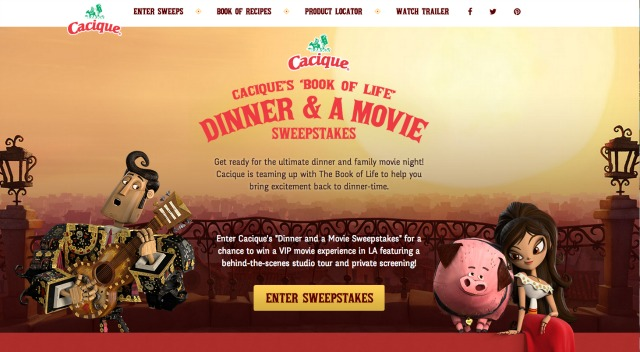 Cacique Cheese Dinner and a Movie Sweepstakes #GoAutentico #ad