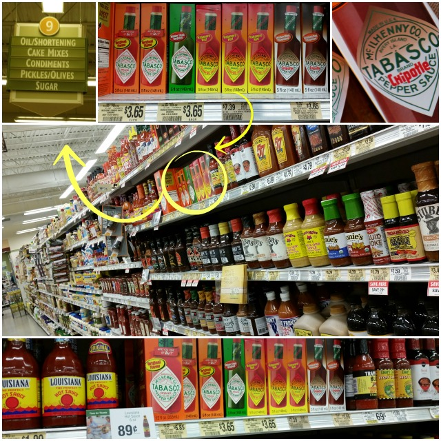 Shopping for Tabasco Sauces at Publix #SeasonedGreetings #ad