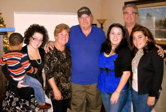 The Martin Family Celebrating Christmas 2013