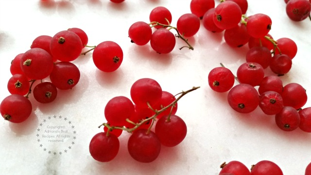 Fresh Red Currants #ABRecipes