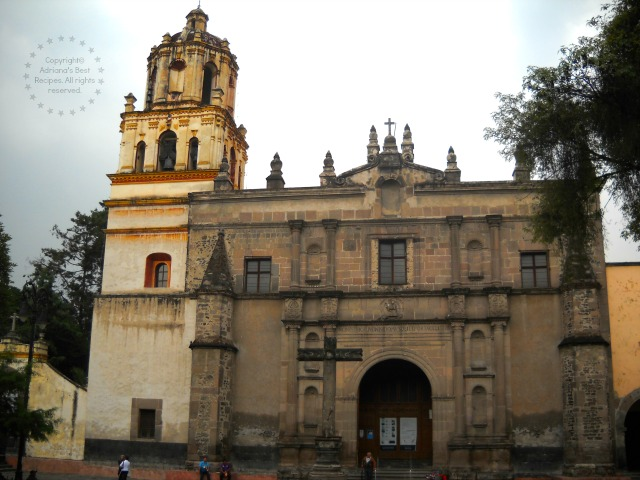 Iglesia de la Conchita at Coyoacan Mexico