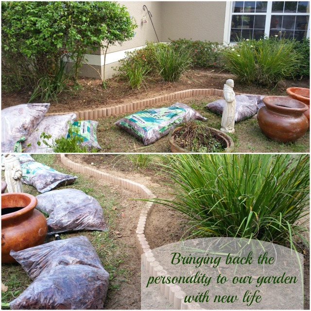 Bringing back the personality of our garden with new life #MiJardinalidad #ad