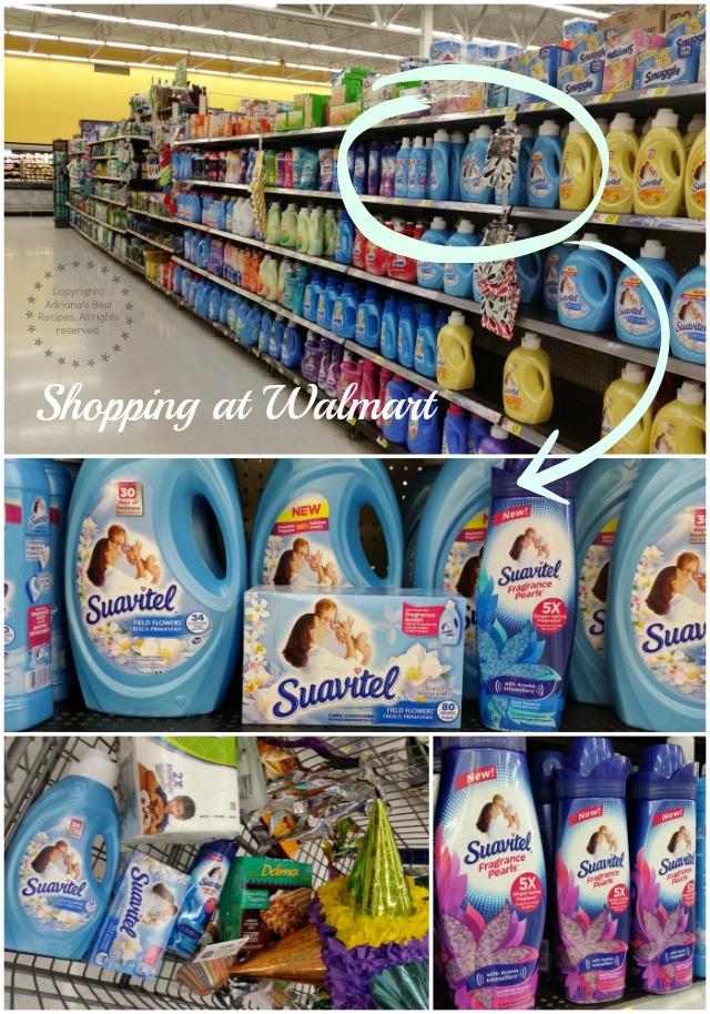 Shopping at Walmart for Suavitel Fragrance Pearls #LongLastingScent #Ad