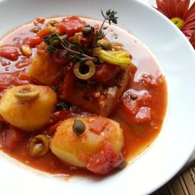 Spanish Style Cod Recipe