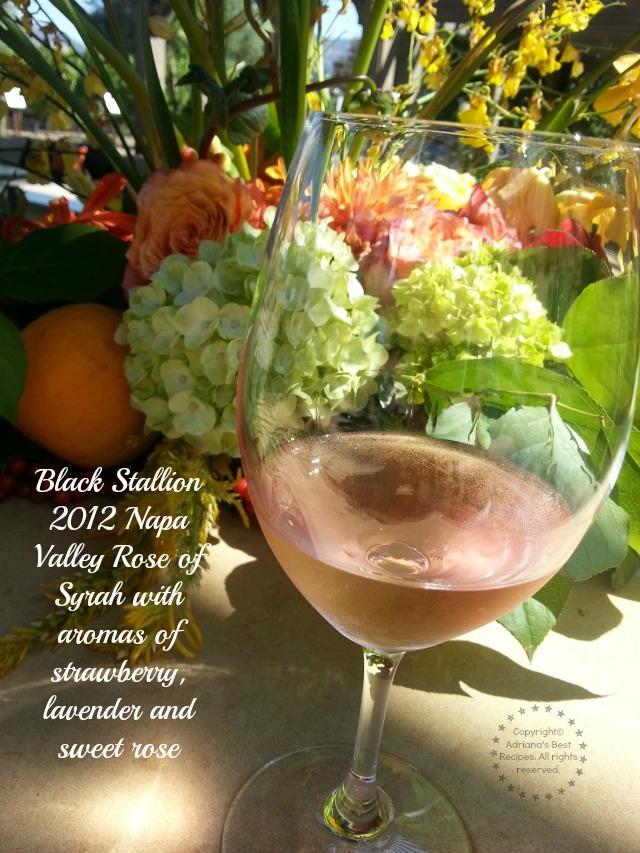 Black Stallion 2012 Napa Valley Rose of Syrah  #TASTE14