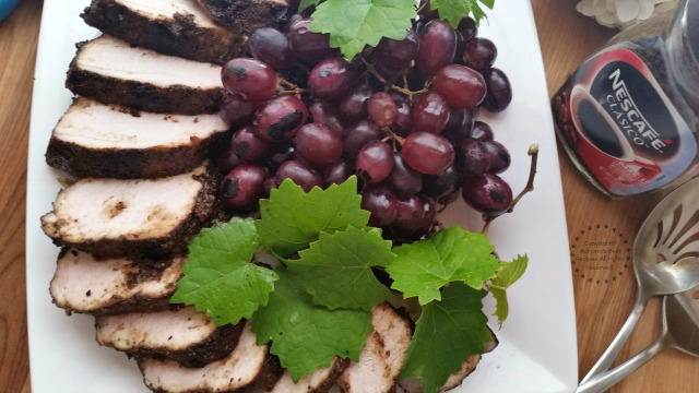 Grilled Pork Loin with NESCAFÉ CLÁSICO #FlavorYourSummer #ad