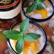 I invite you to try my Rum Mango Mint Julep and celebrate with me National Mint Julep Day #ZacapaRum #ad