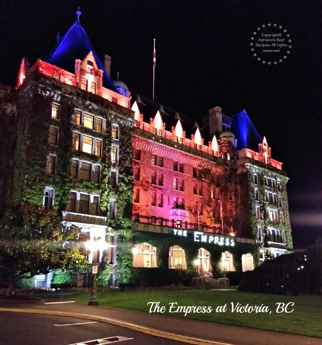 The Empress at Victoria BC #MobileMemories #ad