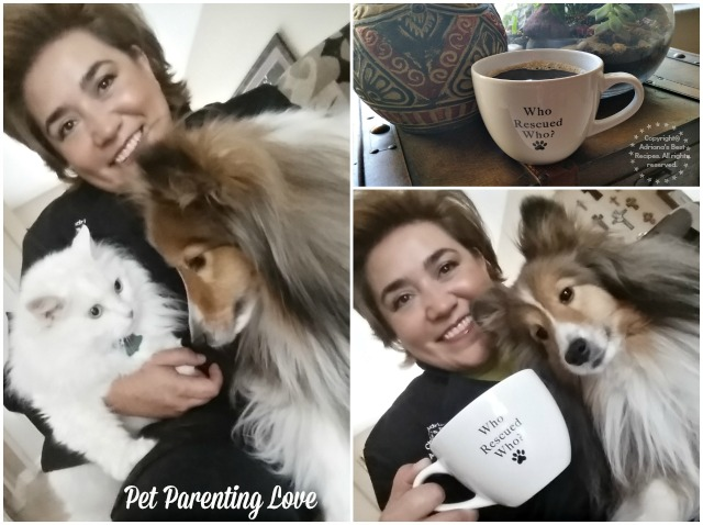 The joys of pet parenting and a well-deserved coffee