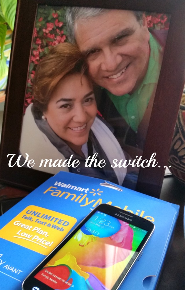 We made the switch to Walmart Family Mobile #MobileMemories #ad