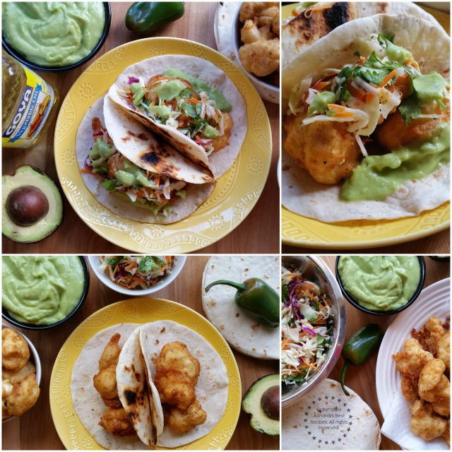 Beer Battered Tacos easy recipe for any day of the week #SoyParaSoy #ad