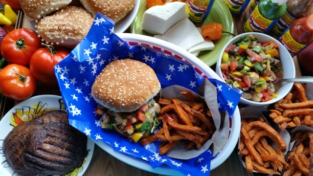 Our menu suggestion for a Fourth of July Party #KingOfFlavor #ad