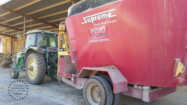 The food processor used on the farm to prepare the perfect formula #TASTE15